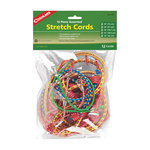 Coghlan's Assorted Stretch Cords - 12 Piece