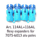 Fizan Flexy Expanders for 7075 and 6013 poles