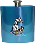 Laken Kukuxumusu hip flask 180 ml Stripe