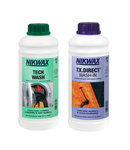 Nikwax Twin Pack Tech Wash 1L + TX Direct 1L